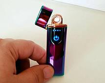 Електрична USB Запальничка з Сенсорним LED Дисплеєм, фото 3