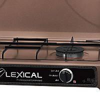 Газовая плита Lexical LGS-2812-5 настольная на 2 конфорк 3.7KW