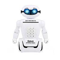 Детская копилка сейф Robot PIGGY BANK с кодовым замком
