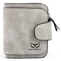 Кошелек Wallerry N2346 Серый