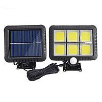 Светильник с датчиком движения и солнечной батареей BL-LF-1723 6Led