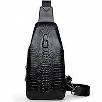 Мужская сумка Alligator BAG B Чёрная