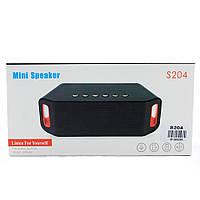 Портативная Bluetooth Колонка SPS S204 * 3011010195 [241]