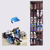 Органайзер на дверь для обуви на 24-карманная