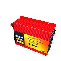 Преобразователь напряжения инвертор 1500W-B 12V