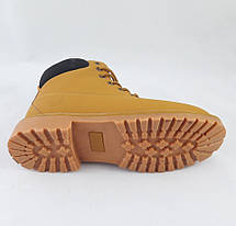 Ботинки Timberland ЗИМА-МЕХ Мужские Тимберленды (размеры: 45) Видео Обзор, фото 3