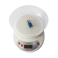 Кухонные весы с чашей Domotec  DT-01