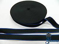"""Тесьма жесткая 2,5 см """"Синяя линия"""", фото 1"""