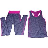 Костюм для йоги, фитнеса и бега Yoga Wear f Suit Slimming.