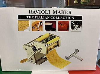 Тестораскаточная машинка для равиоли, пельменей и пасты Ravioli Maker Deluxe