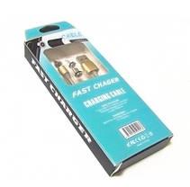 Магнитный Шнур Кабель для зарядки телефонов и планшетов 3 in 1 USB - micro USB/Lightning\Type-C, фото 3