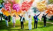 """Кольоровий дим """"Smoke fountain"""", фіолетовий, 1 шт (KG-562), фото 3"""