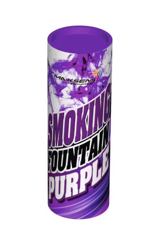 """Кольоровий дим """"Smoke fountain"""", фіолетовий, 1 шт (KG-562)"""