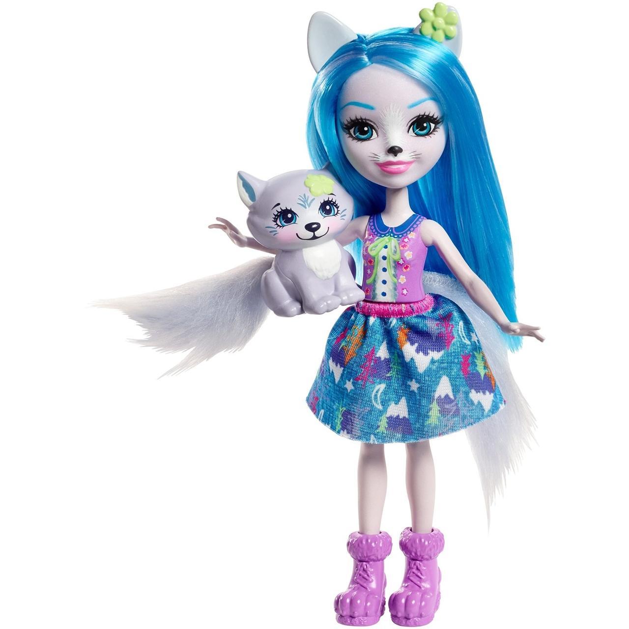 Кукла Enchantimals Энчантималс Волчонок Уинсли FRH40