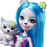 Кукла Enchantimals Энчантималс Волчонок Уинсли FRH40, фото 2