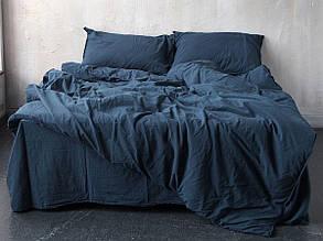Комплект постільної білизни 200x220 LIMASSO BLUE DRESS STANDART синій