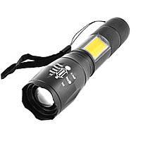 Карманный фонарик Police Torch 520 XPE+COB с USB