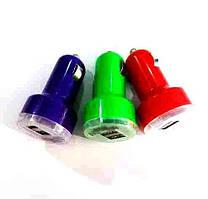 Авто зарядка 2 USB mini