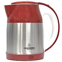 Электрочайник Crownberg CB-2840A Red 2л