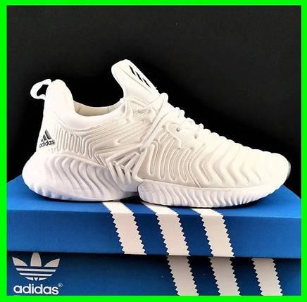Кроссовки Adidas Alphabounce Белые Адидас Женские (размеры: 36,37,38,39,40,41) Видео Обзор, фото 2