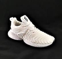Кроссовки Adidas Alphabounce Белые Адидас Женские (размеры: 36,37,38,39,40,41) Видео Обзор, фото 3