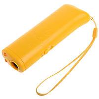 Ультразвуковой отпугиватель собак AD-100 (Желтый)