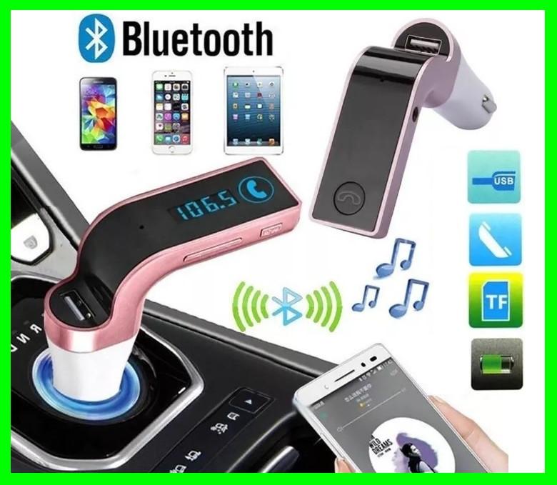 FM - Модулятор Трансмиттер с Bluetooth (ВидеоОбзор)