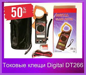 Токовые клещи Digital DT266 МУЛЬТИМЕТР (ВидеоОбзор)Клещи токовые цифровые.