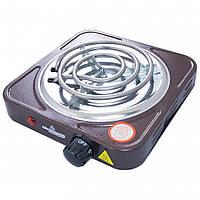 Электроплита на одну конфорку Crownberg CB-3741 1000 Вт спиральная