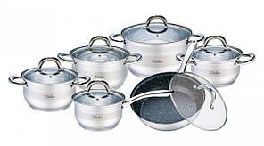 Набор кухонной посуды Solerno 12 пр Bollire BR-4004