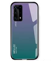 Чехол Huawei P40 Pro Plus Gradient Hello
