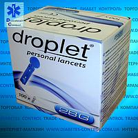 Ланцеты универсальные Droplet / Дроплет 100 шт.