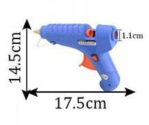Термо Пистолет Клеевой Для Силиконового Клея 60W Пистолет термоклеевой електрический., фото 2
