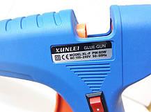 Термо Пистолет Клеевой Для Силиконового Клея 60W Пистолет термоклеевой електрический., фото 3