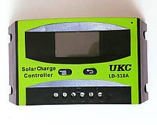 Контроллер для Солнечной Батареи Панели на 10А Контроллер заряда для солнечных систем., фото 3