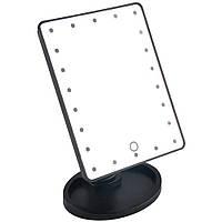 Зеркало с подсветкой H0170 (22 диода) - ЧЕРНОЕ