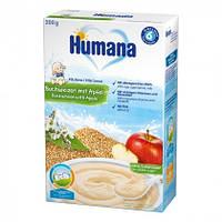 Каша молочная гречневая с яблоком хумана humana, 250г, 6+
