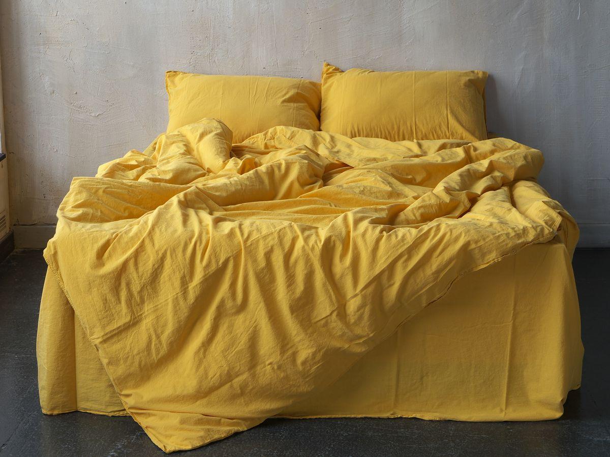 Комплект постільної білизни 200x220 LIMASSO LIMONADE STANDART жовтий