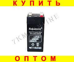 Аккумулятор NOKASONIC 4 v-4.5 ah 480 gm