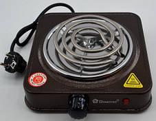Электрическая Плита Настольная Печка Электроплитка Спираль, фото 3
