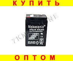 Аккумулятор NOKASONIC 6v-5.0 ah 720 gm