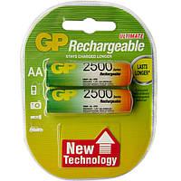 Аккумулятор GP R6/AA 2500 mAh (Блистер 2 батарейки)
