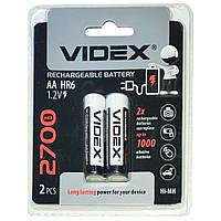 Аккумуляторы Videx HR6/AA 2700mAh(Блистер 2 батарейки) *3011012946 [1990]