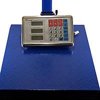 Весы ACS 150kg 40*50 Fold Domotec 6V с железной головой  усиленная площадка