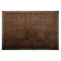 Решіток килимок волого і грязе вловлюючі розрізний ворс 150х240х0,11 см Premium темно-коричневий