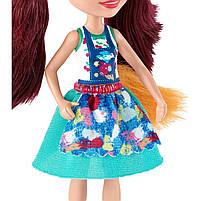 Кукла Enchantimals Энчантималс Художественная студия Лисички Фелисити со зверюшкой GBX03, фото 4