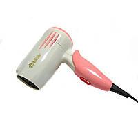 Дорожный мини фен для волос Domotec MS-1410 (1400W)