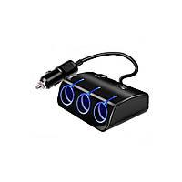 Разветвитель прикуривателя 1501-1510 3 USB