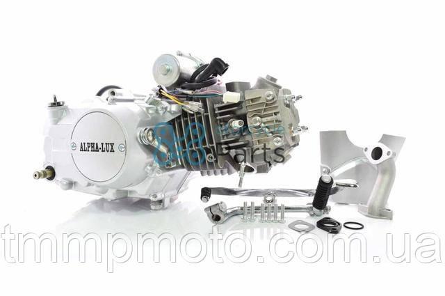 Двигатель DELTA , ALFA , ACTIVE -125 ( механика) алюминиевый цилиндр