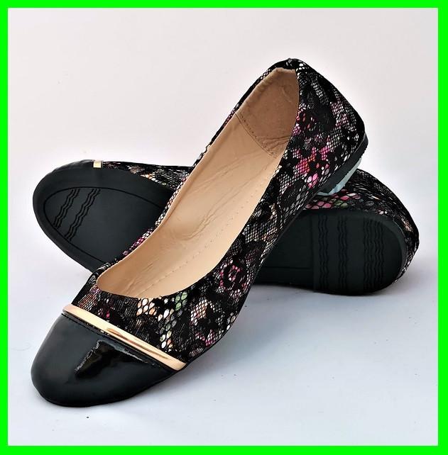 Женские Балетки Чёрные Мокасины Туфли (размеры: 36,37,38,39,40)